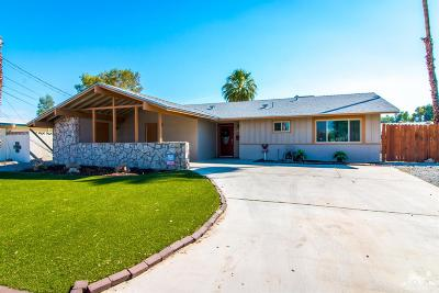 Palm Desert Single Family Home For Sale: 43085 Delaware Street