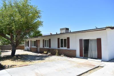 Palm Springs Single Family Home For Sale: 1809 Marguerite Street