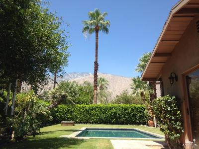 Palm Springs Single Family Home For Sale: 1371 East San Lucas Road