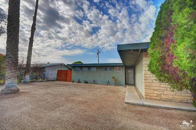 Cathedral City Single Family Home For Sale: 69265 Nilda Drive