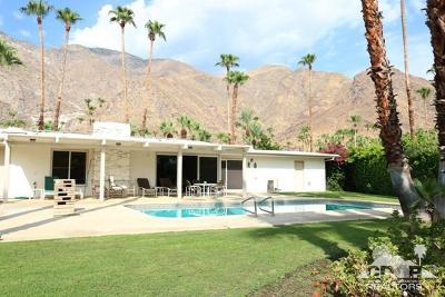 Palm Springs Single Family Home For Sale: 786 North High Road