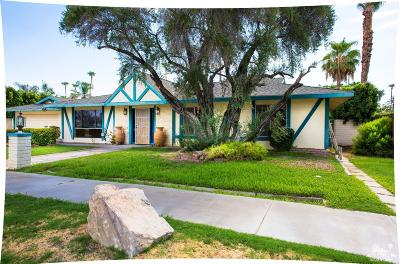 Palm Springs Single Family Home Contingent: 2082 South Birdie Way