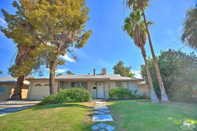 Palm Desert Single Family Home Contingent: 77535 California Drive