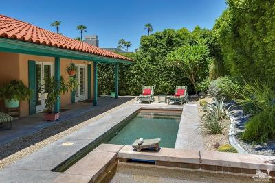 Palm Springs Single Family Home Contingent: 1960 South Mesa Drive