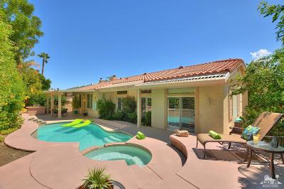 Palm Desert Single Family Home Contingent: 73482 Terraza Drive