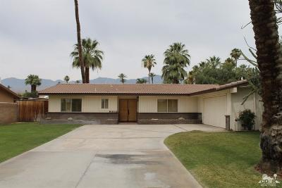 Rancho Mirage Single Family Home Contingent: 36809 Marber Drive
