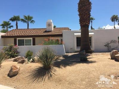 Palm Springs Single Family Home For Sale: 1121 East El Escudero