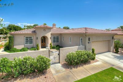 Rancho Mirage Single Family Home Contingent: 69775 Camino Pacifico