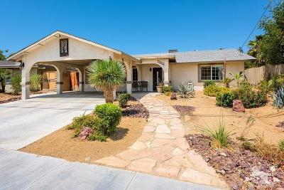 Palm Desert Country Single Family Home Contingent: 77090 New York Avenue
