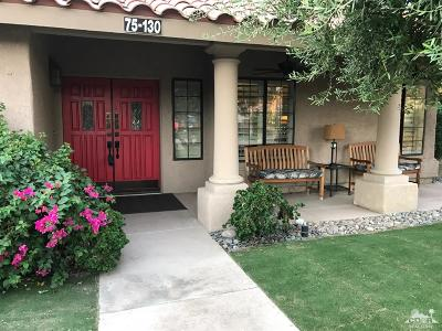 Palm Desert Single Family Home For Sale: 75130 La Sierra