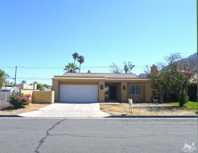La Quinta Single Family Home For Sale: 52280 Avenida Mendoza