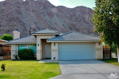La Quinta Single Family Home For Sale: 51945 Avenida Madero