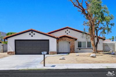 Cathedral City Single Family Home For Sale: 27245 Hombria Drive