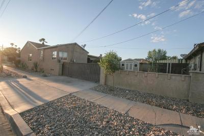 Indio Single Family Home For Sale: 45266 Deglet Noor Street