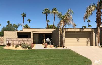 Rancho Mirage Single Family Home Contingent: 22 North Chandra Lane