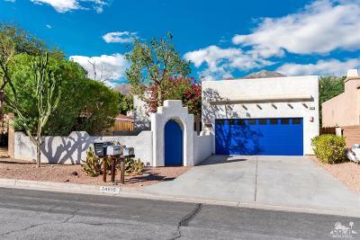 La Quinta Single Family Home For Sale: 54815 Avenida Vallejo