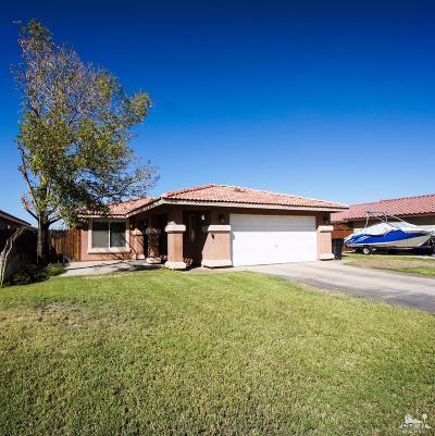 Blythe Single Family Home For Sale: 311 East Oasis Street