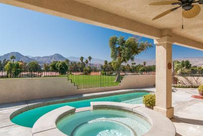 Palm Desert Country Single Family Home Contingent: 76871 California Drive