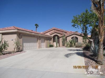 La Quinta Single Family Home Contingent: 79528 Morning Glory Court