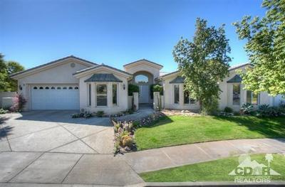 Rancho Mirage Single Family Home For Sale: 5 Dickens Court