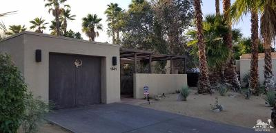 Palm Springs Single Family Home For Sale: 1331 East Luna Way