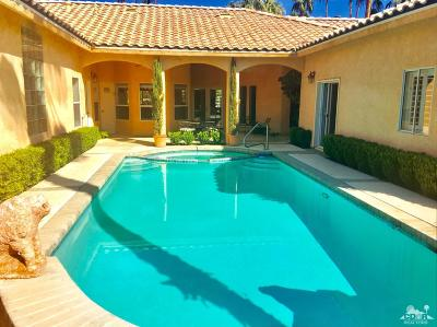 Rancho Mirage Single Family Home For Sale: 39857 Kersten Road
