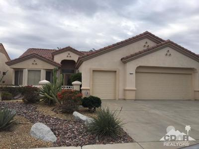 Palm Desert Single Family Home Contingent: 78207 Sunrise Mountain View