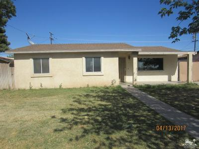 Blythe Single Family Home For Sale: 360 South 3rd Street