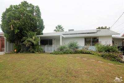 Palm Desert Single Family Home Contingent: 77250 Indiana Avenue