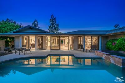 Rancho Mirage Single Family Home Contingent: 6 Baker Court