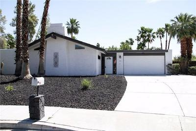 Cathedral City, Palm Springs Rental For Rent: 564 North Cantera Circle