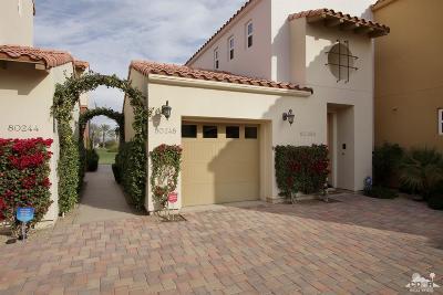 La Quinta Condo/Townhouse For Sale: 80248 Via Tesoro