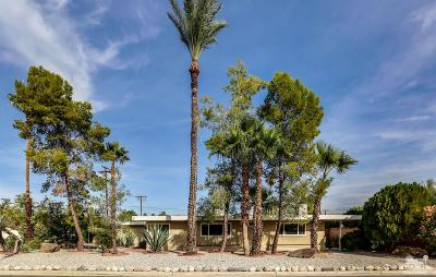 Palm Springs Single Family Home For Sale: 1400 East Buena Vista Drive
