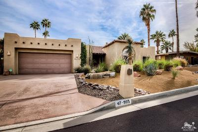 Palm Desert Single Family Home For Sale: 47905 Sun Corral Trail