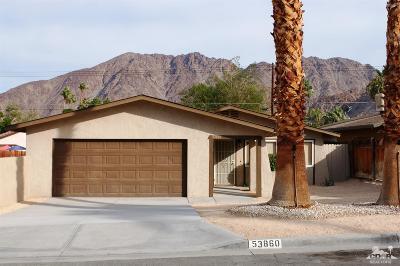 La Quinta Single Family Home For Sale: 53860 Avenida Herrera