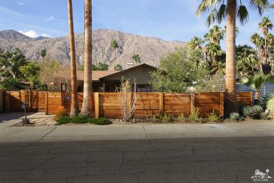 Palm Springs Single Family Home For Sale: 635 South Vista Oro