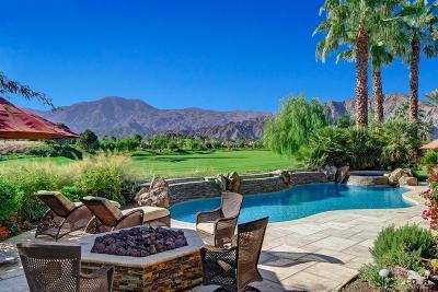 La Quinta Single Family Home For Sale: 80805 Via Montecito