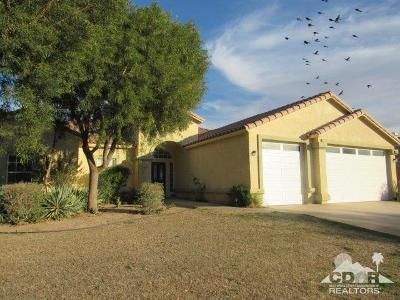 Blythe Single Family Home For Sale: 2690 Clearwater Drive