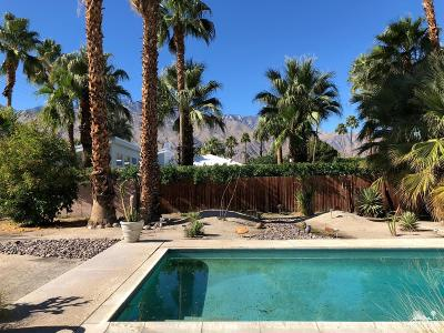Palm Springs Single Family Home For Sale: 509 North Cerritos Drive