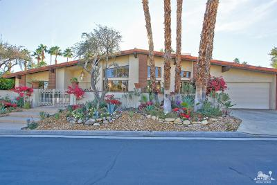 Ironwood Country Clu Single Family Home For Sale: 73717 Agave Lane Lane