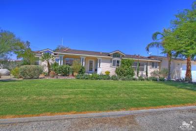 Indio Single Family Home For Sale: 80800 Avenue 38