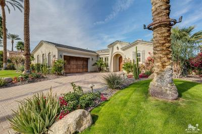 Indian Wells Single Family Home Contingent: 76060 Via Montelena