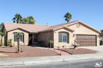 Indio Single Family Home For Sale: 83202 Albion Drive