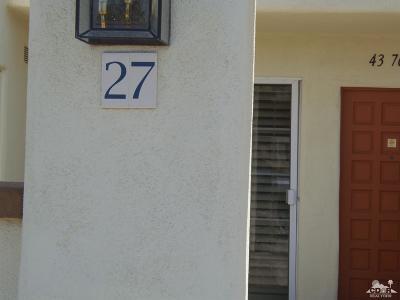 Palm Desert Single Family Home For Sale: 43761 Avenida Alicante #427-2