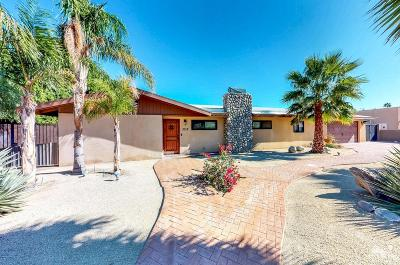Palm Springs Single Family Home Contingent: 2012 North Cerritos Drive