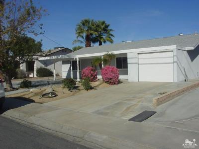 Palm Desert Country Single Family Home Contingent: 43300 Illinois Avenue
