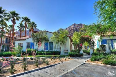 La Quinta Condo/Townhouse For Sale: 77757 Heritage Drive