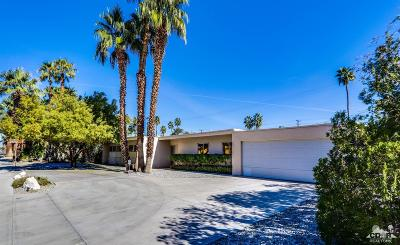 Palm Springs Single Family Home Contingent: 422 North Farrell Drive