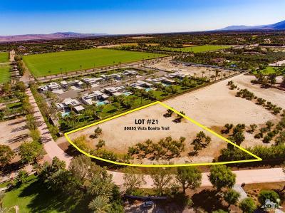 La Quinta Residential Lots & Land For Sale: 80885 Vista Bonita Lot 21 Trail