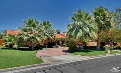 Rancho Mirage Single Family Home For Sale: 72162 Rancho Road